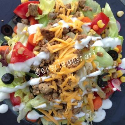 Mexican Turkey Salad