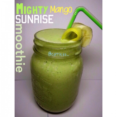 Mighty Mango Sunrise Smoothie