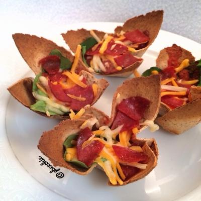 Mini Pizza Bowls