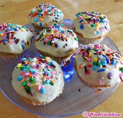 Mini Protein Birthday Cakes