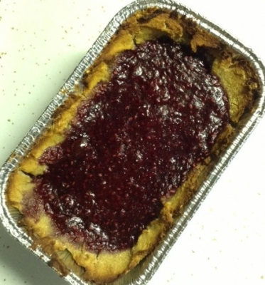 Mini Raspberry Protein Tart
