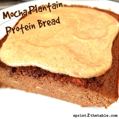 Mocha Plantain Bread