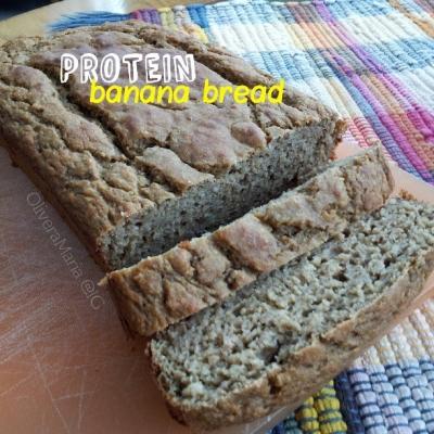 Moist Protein Banana Bread