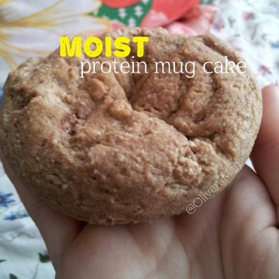 Moist Protein Mug Cake