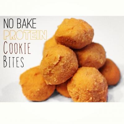No Bake Protein Cookie Bites
