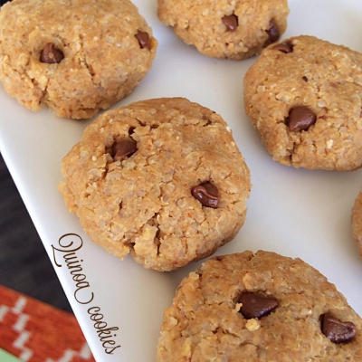 No Bake Quinoa Cookies