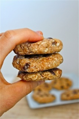 No Bake S'Mores Protein Cookies