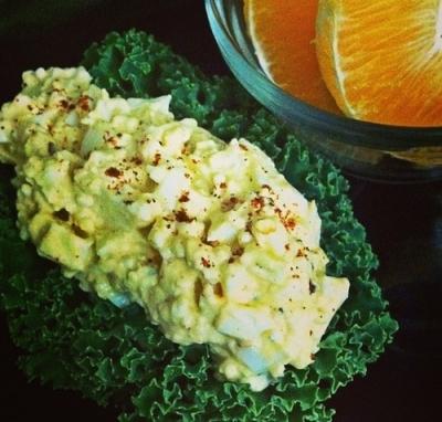No-Mayo Egg-Salad
