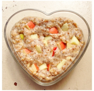 No Sugar Added- Apple Pie Egg White Oats