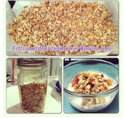No Sugar Added Granola