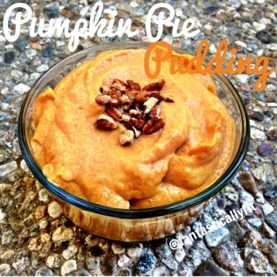 No Sugar Added Vegan Pumpkin Pie Pudding