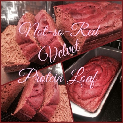 Not-So-Red Velvet Protein Loaf