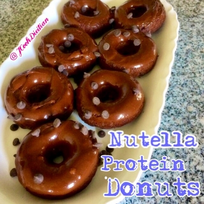 Nutella Protein Donuts
