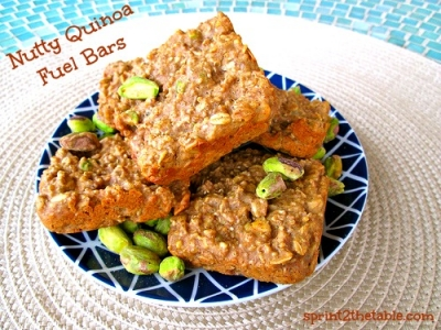 Nutty Quinoa Fuel Bars