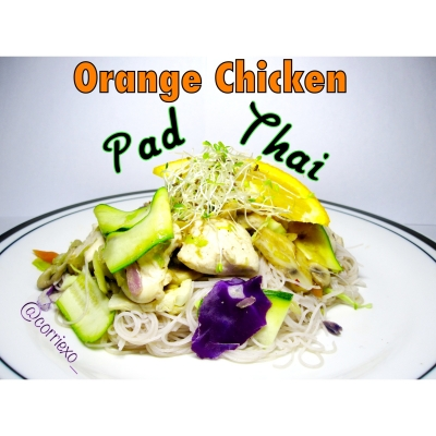 Orange Chicken Pad Thai
