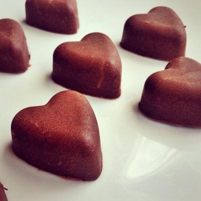 Orange Protein Chocolates
