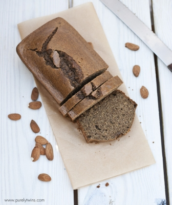 Paleo Almond Butter Protein Bread