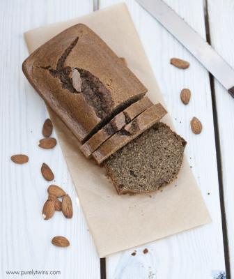 Paleo Almond Butter Protein Bread