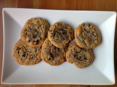 Paleo Bacon Chocolate Chip Cookies