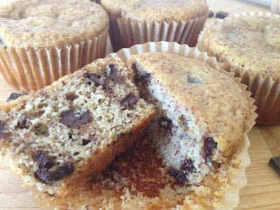 Paleo Chocolate Chip Muffins