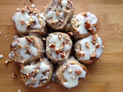 Paleo Cinnamon Rolls With Coconut Vanilla Frosting