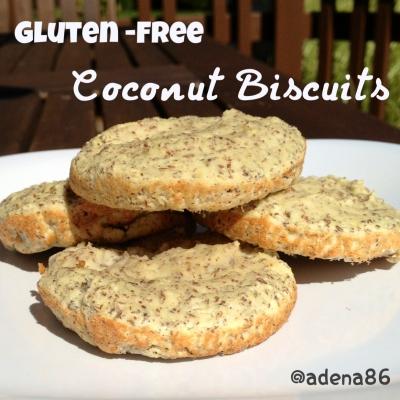 Paleo Coconut Biscuits
