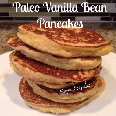Paleo Vanilla Bean Pancakes