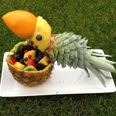 Parot Of Fruit