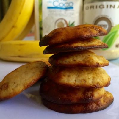 Pb & Banana Protein Cookies