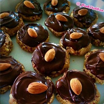 Pb & J Dark Chocolate Protein Bites