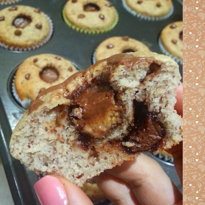Pb Cup Nutella Almond Flour Protein Muffins