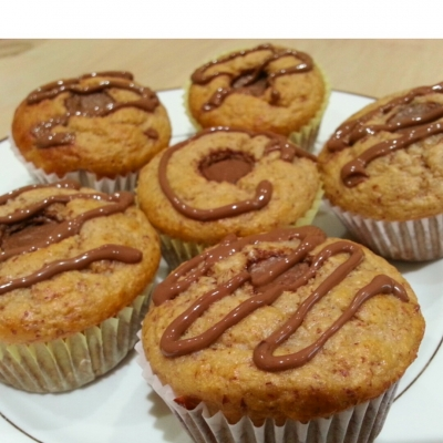 Pb Cup Protein Cupcakes