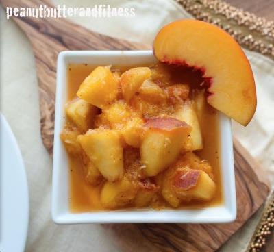 Peach Mango Ginger Chutney