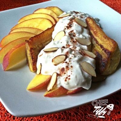 Peaches & Cream Plantain Split
