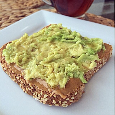 Peanut Butter Avocado Toast