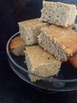 Peanut Butter Banana Bread Protein Bars