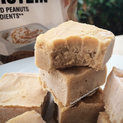 Peanut Butter Banana Protien Fudge