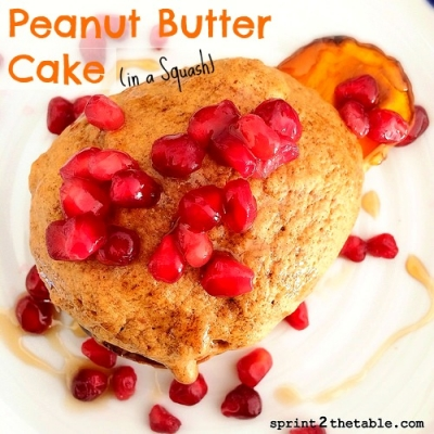 Peanut Butter Cake In a Squash