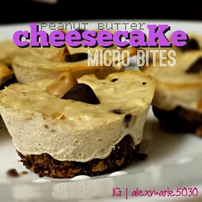 Peanut Butter Cheescake Micro Bites