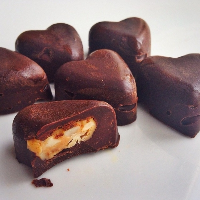 Peanut Butter Protein Chocolates