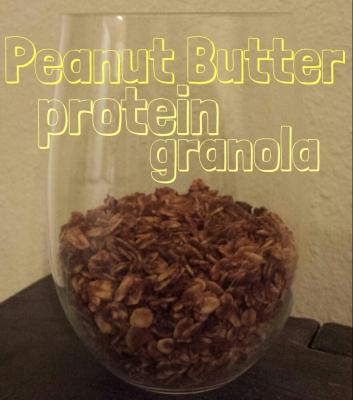 Peanut Butter Protein Granola