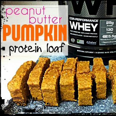 Peanut Butter Pumpkin Loaf