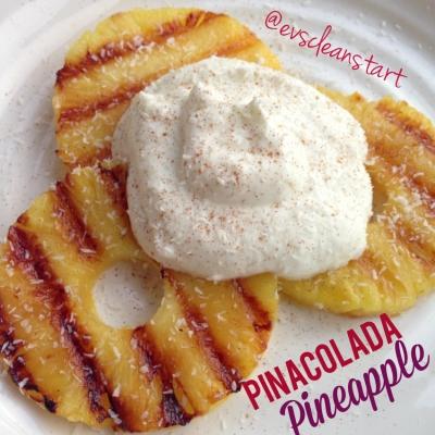 Pina Colada Pineapple!