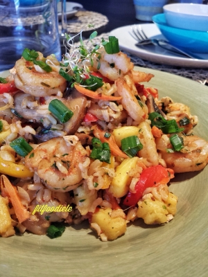 Pineapple Shrimp Fried Brown Rice