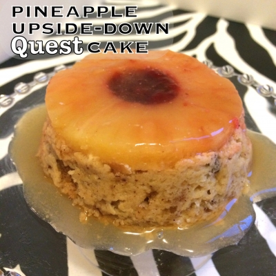 Pineapple Upside-Down Quest Cake