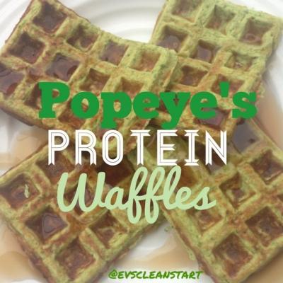 Popeye'S Protein Waffles