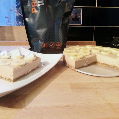 Protein Banoffee Pie