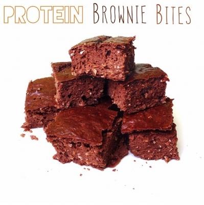 Protein Browinie Bites