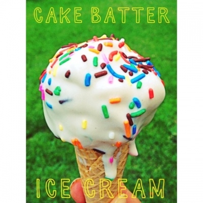 Protein Cake Batter Ice Cream