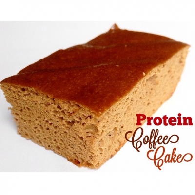 Protein Coffee Cake Bars